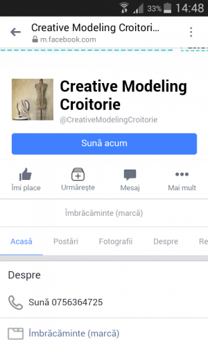 Creative Modeling Croitorie